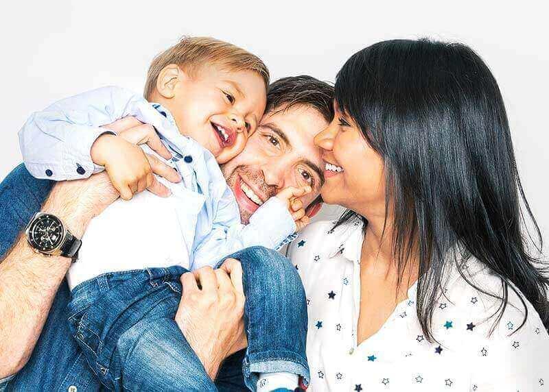 Fotografías en familia